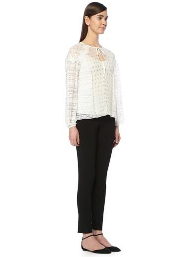 Temperley London Bluz Beyaz